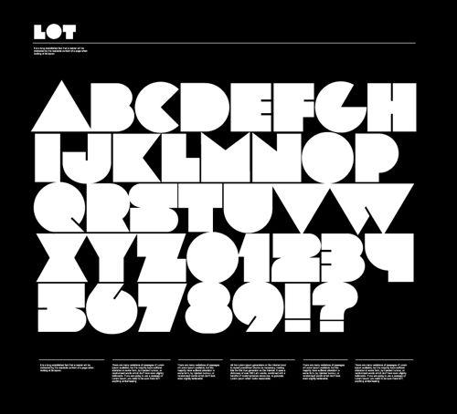 Free Retro Block Font Lot Jpg 500 454 Block Letter Fonts Free Fonts For Designers Cool Fonts