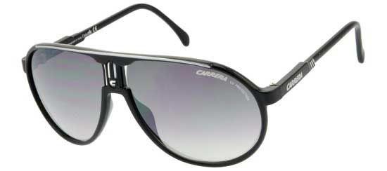 Carrera Eyewear Herren Sonnenbrille » CHAMPION«, schwarz, BSC/IC - schwarz/ silber