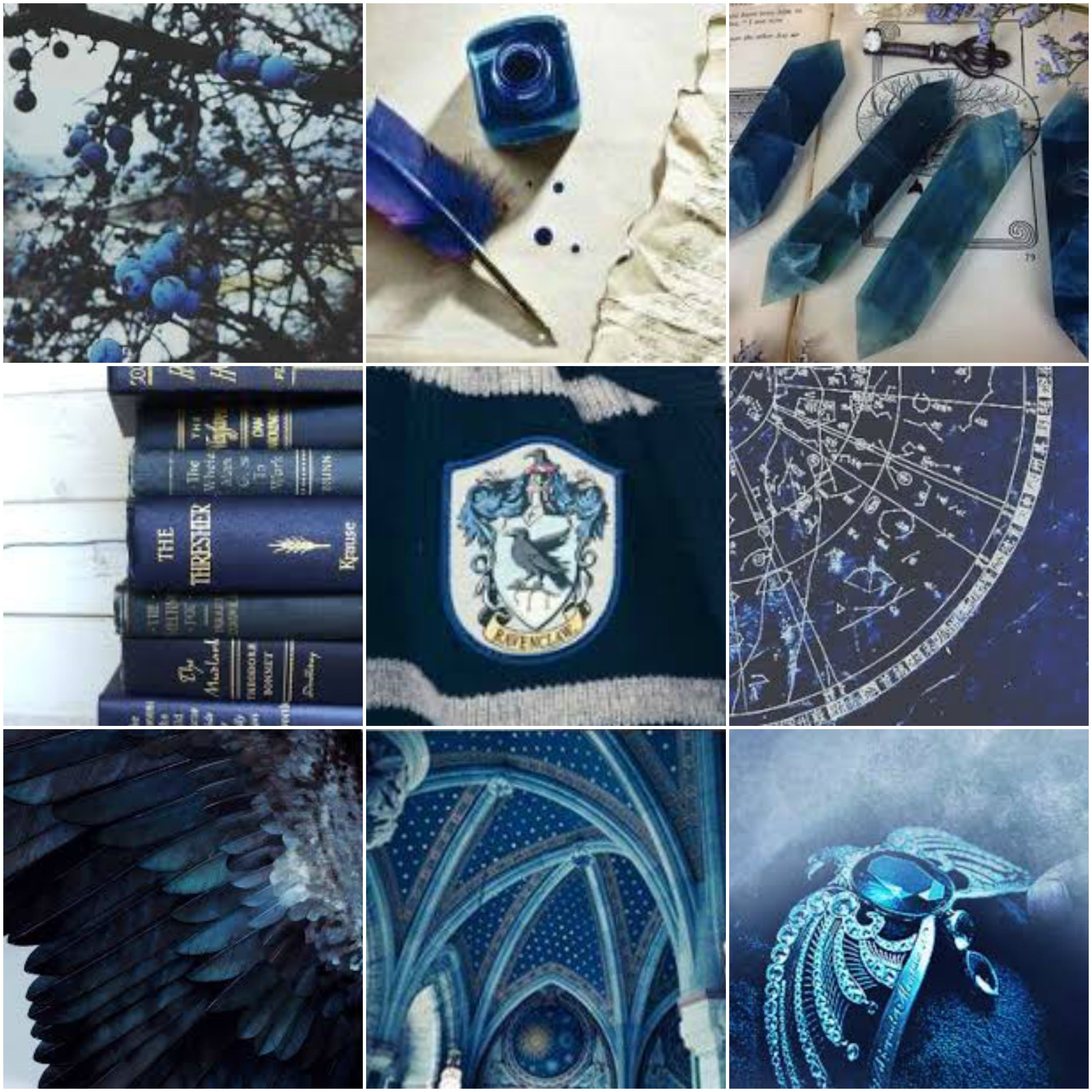 Ravenclaw Aesthetic Mood Board With Images Ravenclaw Aesthetic