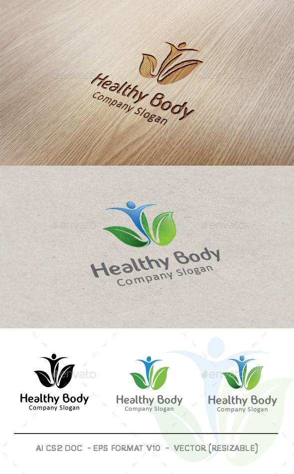 Pin by LogoLoad on Nature Logos   Chiropractic logo, Massage logo
