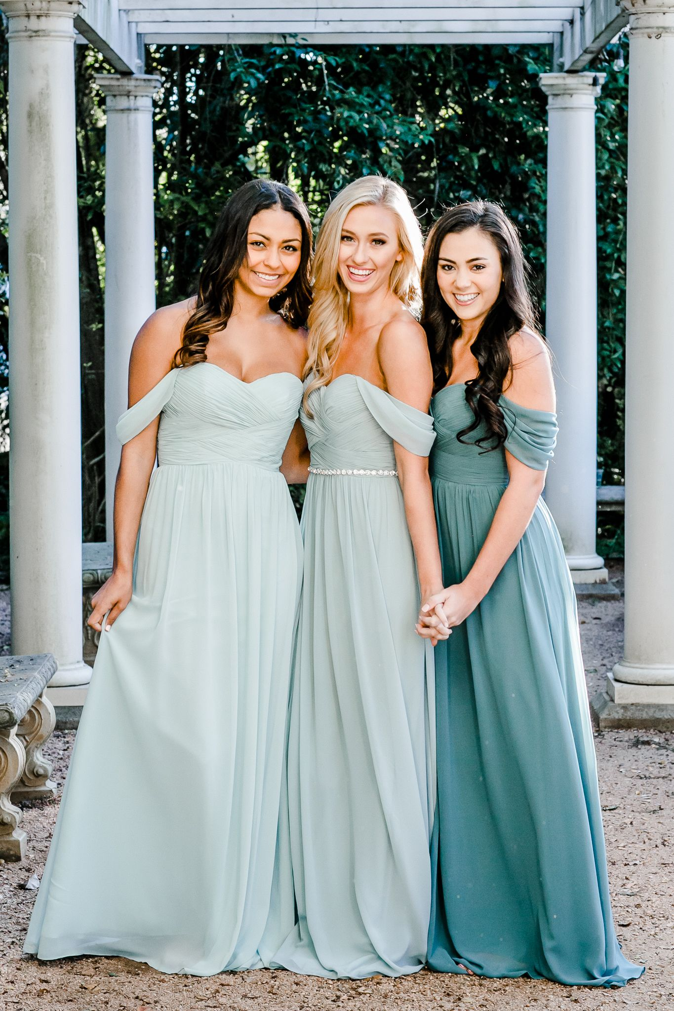 0dccc47b2a1 Mix and Match Revelry Bridesmaid Dresses and Separates. Dresses pictured in  Powder Sky