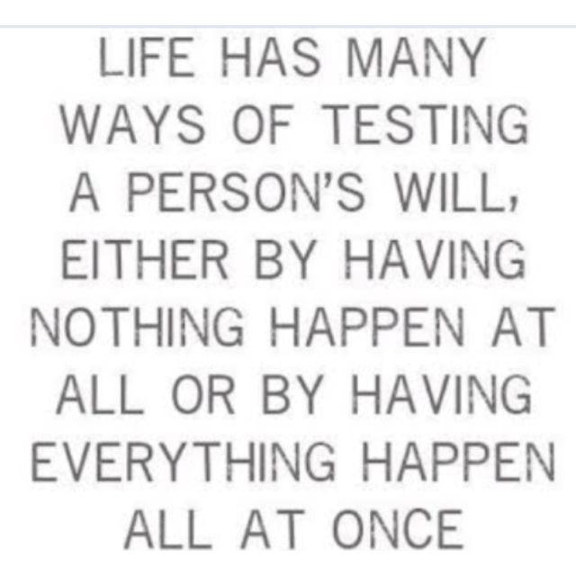 Life tests