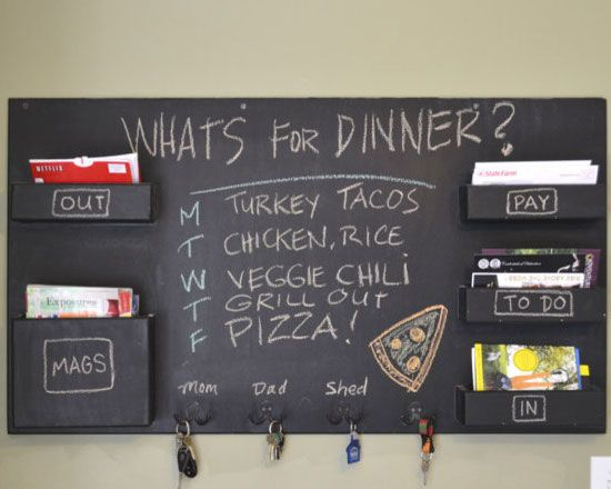 21 funky diy chalkboard paint ideas for the home - Chalk Paint Ideas Kitchen