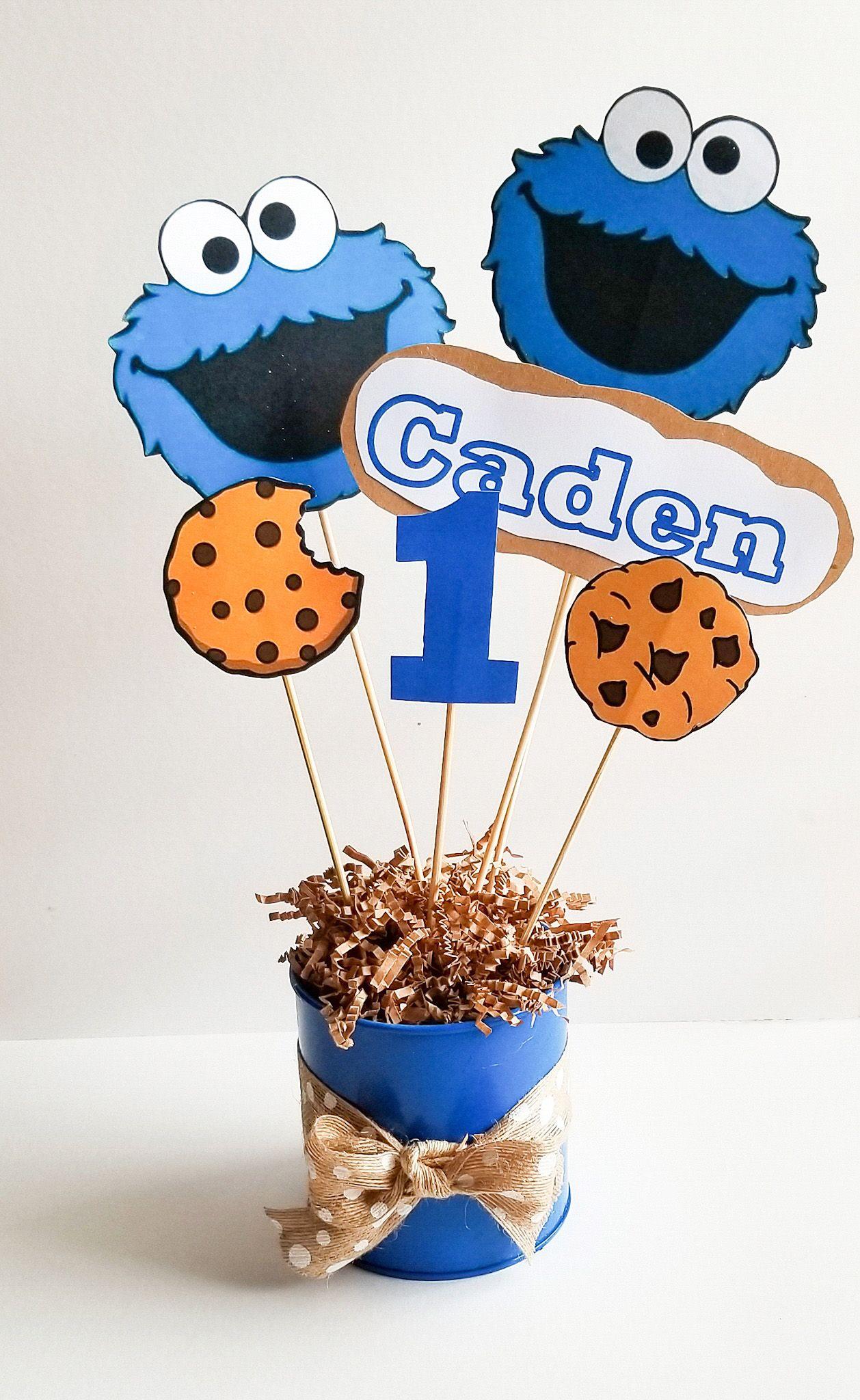 Diy Cookie Monster Party Beautiful Eats Things Cookie Monster Party Cookie Monster Birthday Party Monster Cookies