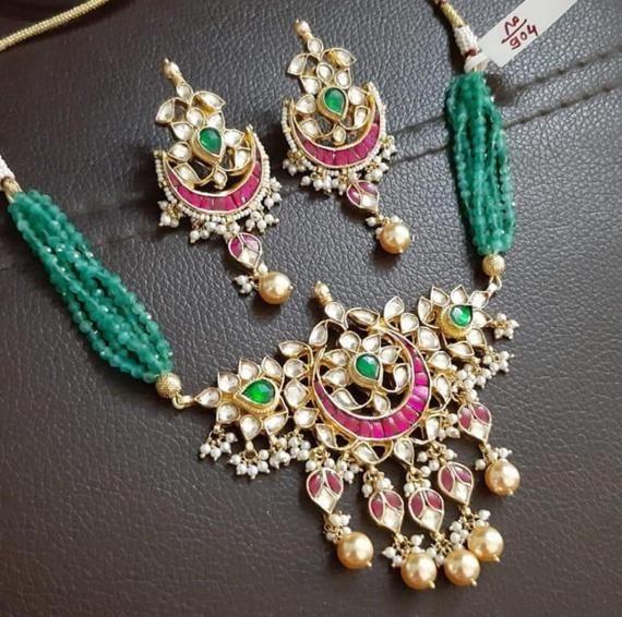 South Indian Wedding Necklace Sabyasachi Inspired