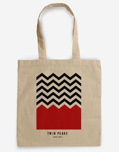 Bolsa homenaje a Twin Peaks – Agent Cooper – David Lynch Bolsa homenaje …