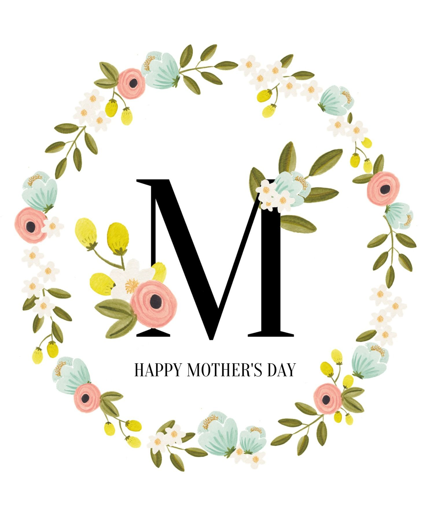It is a graphic of Invaluable Happy Mother's Day Printable