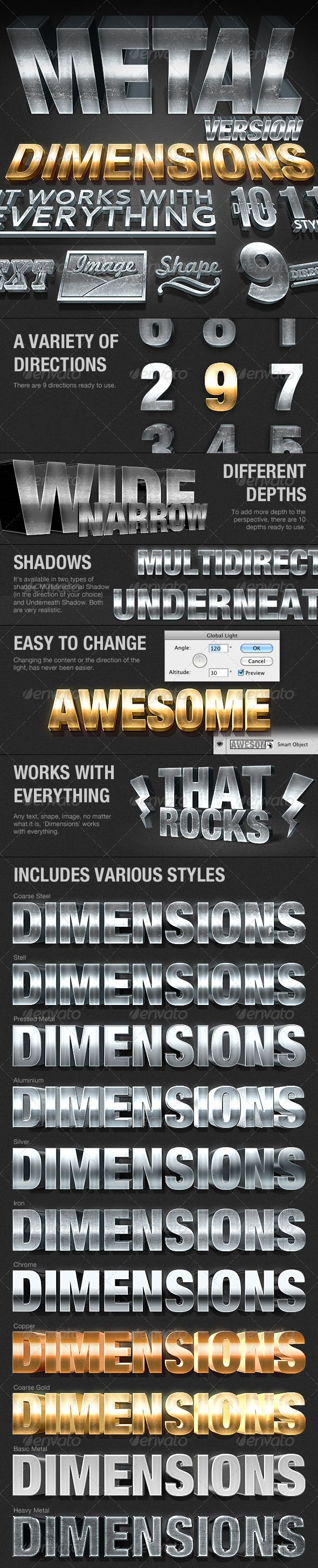 Diions Metal Version - 3D Generator Action | Pinterest ... on text shape generator, word map generator, 3d shape generator, typography design inspiration, eye shape generator, letter shape generator, typography alphabet,
