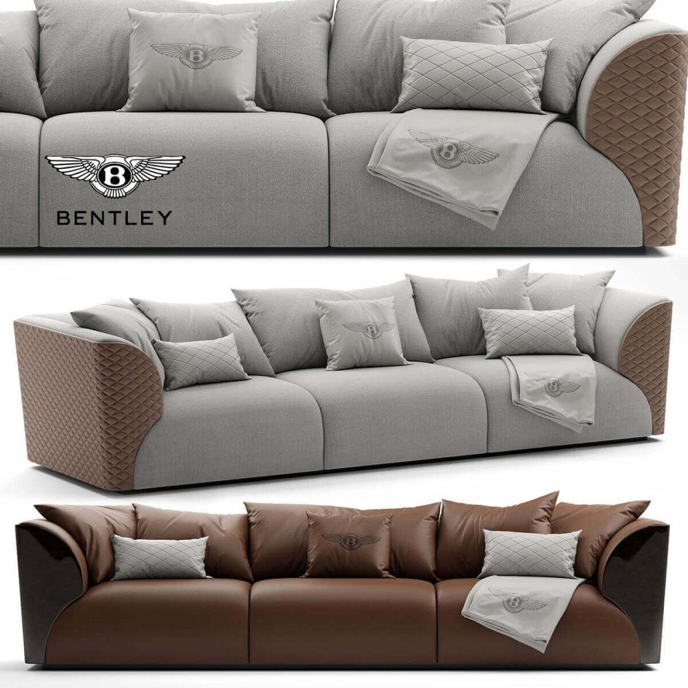 Amazing Sofa Bentley Home Winston Sofa 3D Model In 2019 Sofa Machost Co Dining Chair Design Ideas Machostcouk