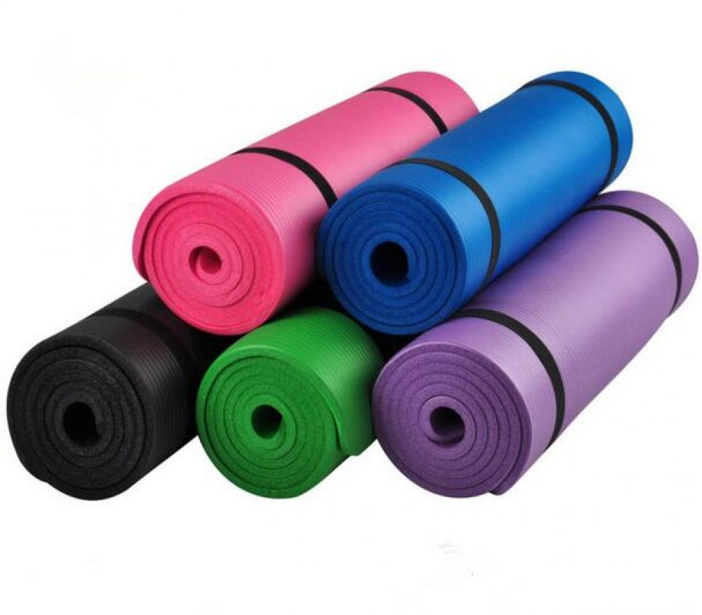 Yoga Mat For Exercise Yoga And Pilates 10mm Thick Price 33 02 Free Shipping Fitnessfreaks Fitgirl Fitne Mat Exercises Thick Yoga Mats Gymnastics Mats