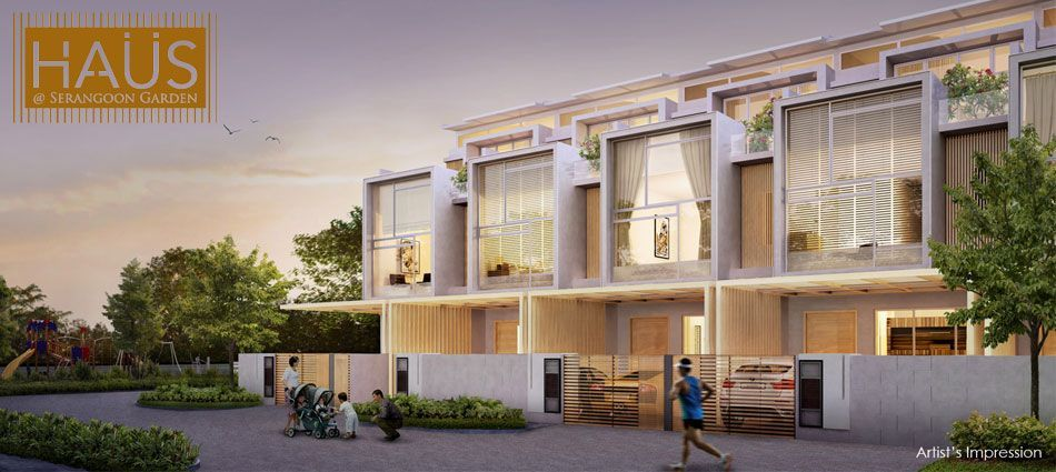 Looking For The Best Property Project In Singapore In My Opinion Haus Landed Is The Best Property Project In Singa Cluster House Terrace House Condos For Sale