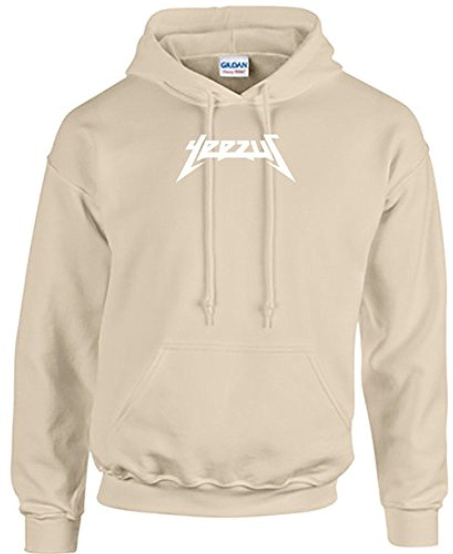 Yeezus Kanye West Hoodie - Unisex Sizing - Sand Color - Yeezy Tour at  Amazon Men's Clothing store: