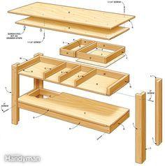 Workbench Plans Metric Google Search Diy Woodworking