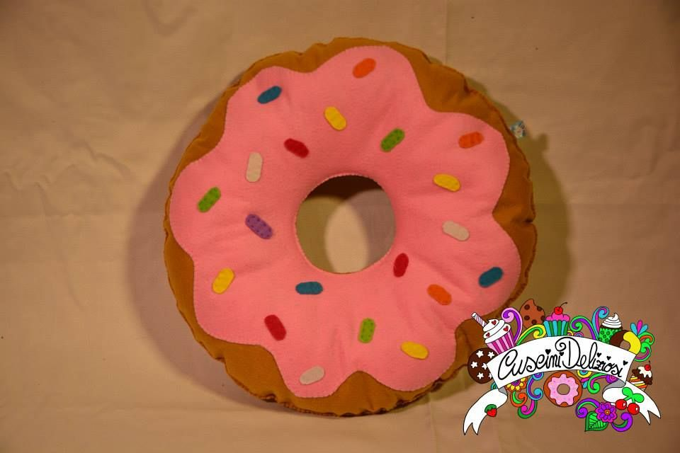 homer simpson donuts cuscinideliziosi donut pillow pinterest rh pinterest com