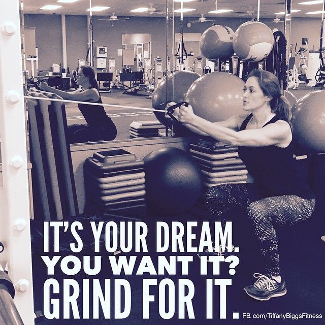 You've gotta grind.