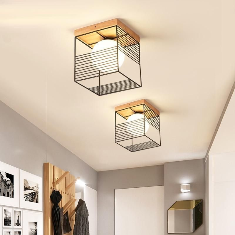Escher Cage Vintage Plafonniers In 2020 Cage Ceiling Light Ceiling Lights Wall Mounted Lamps