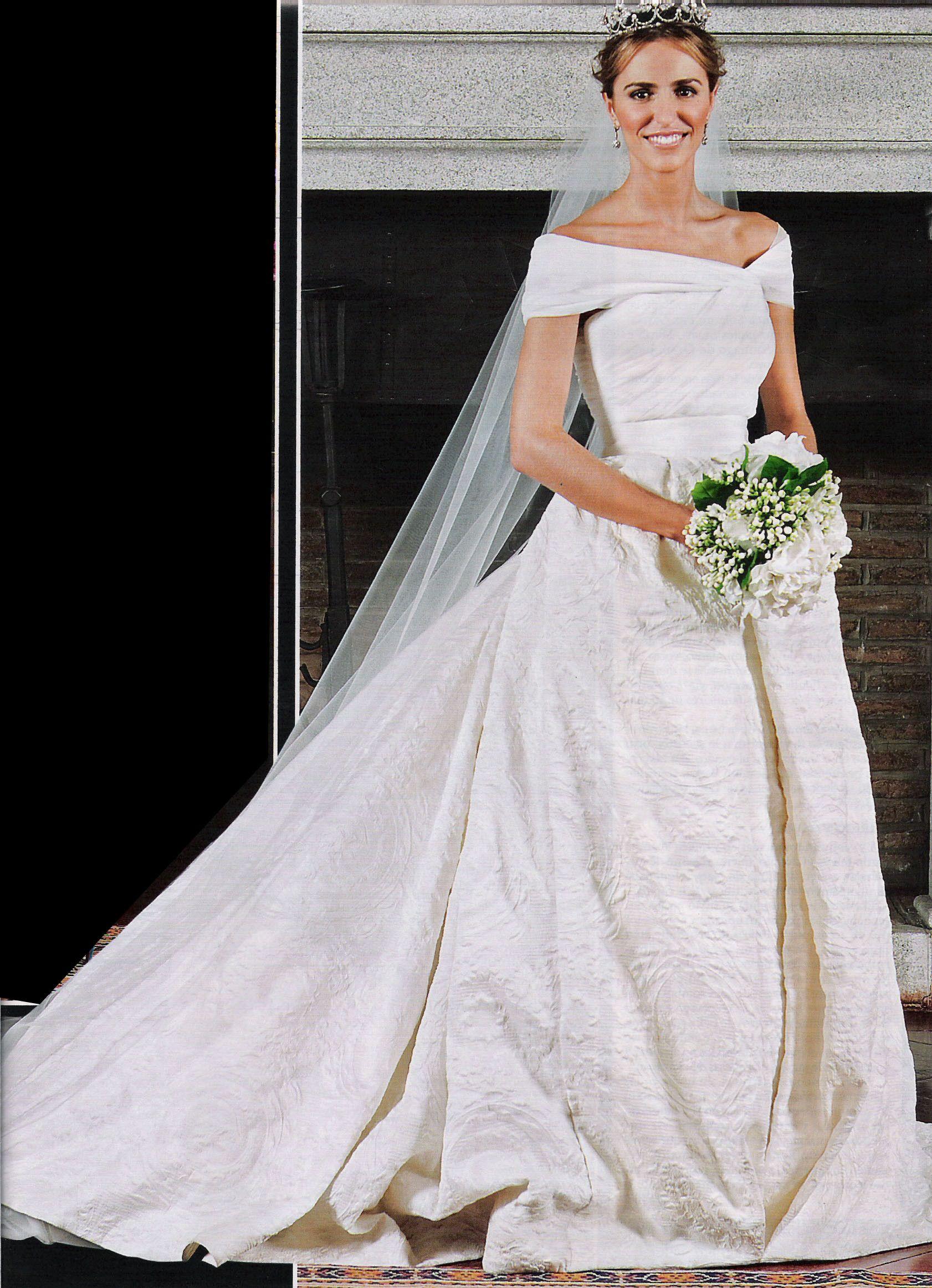 Vestido de novia de laura vecino