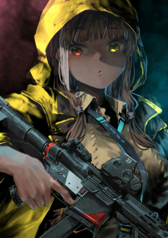 Pin di Anime girl gun