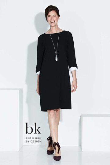 c3152f64d1f bird keepers by design - Split Sleeve Shift Dress - Womens Knee Length  Dresses - Birdsnest Online Fashion