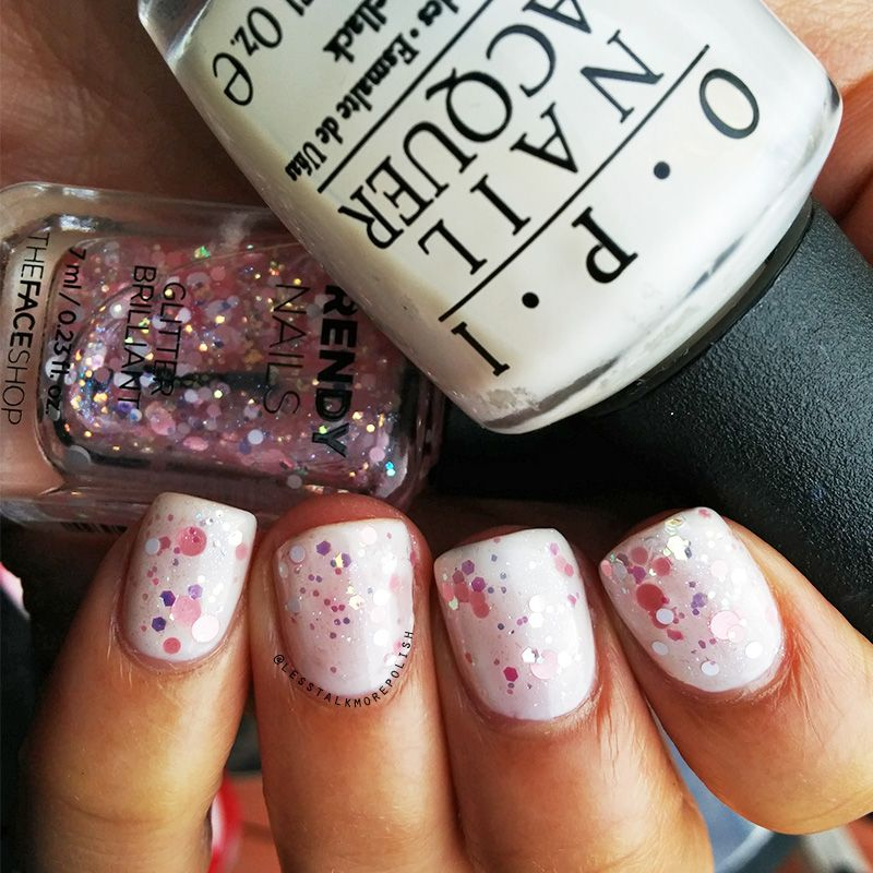 Feauring OPI in Funny Bunny and Trendy Nails | Pink Nail Art Ideas ...