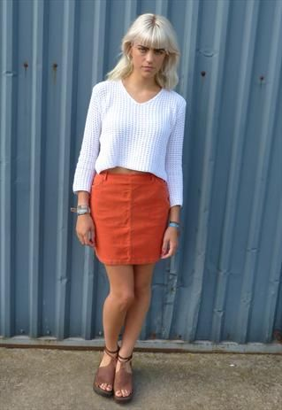 Vintage French Connection Mini Skirt