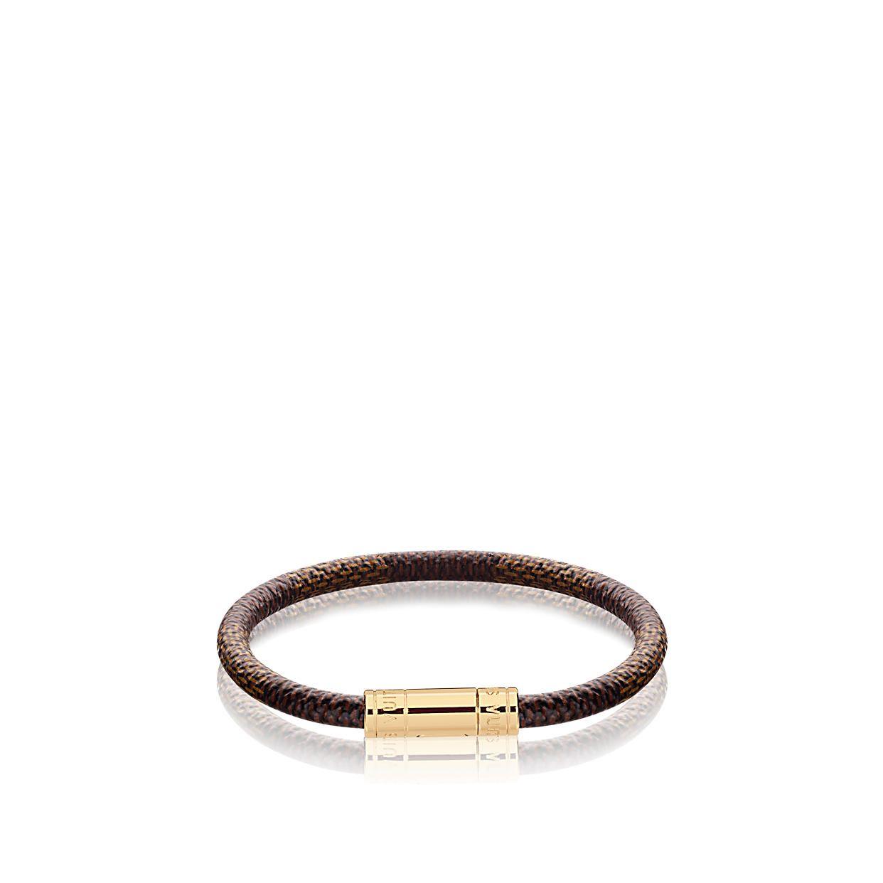 Keep It Armband Lederarmband Damen Armband Leder Und Louis Vuitton