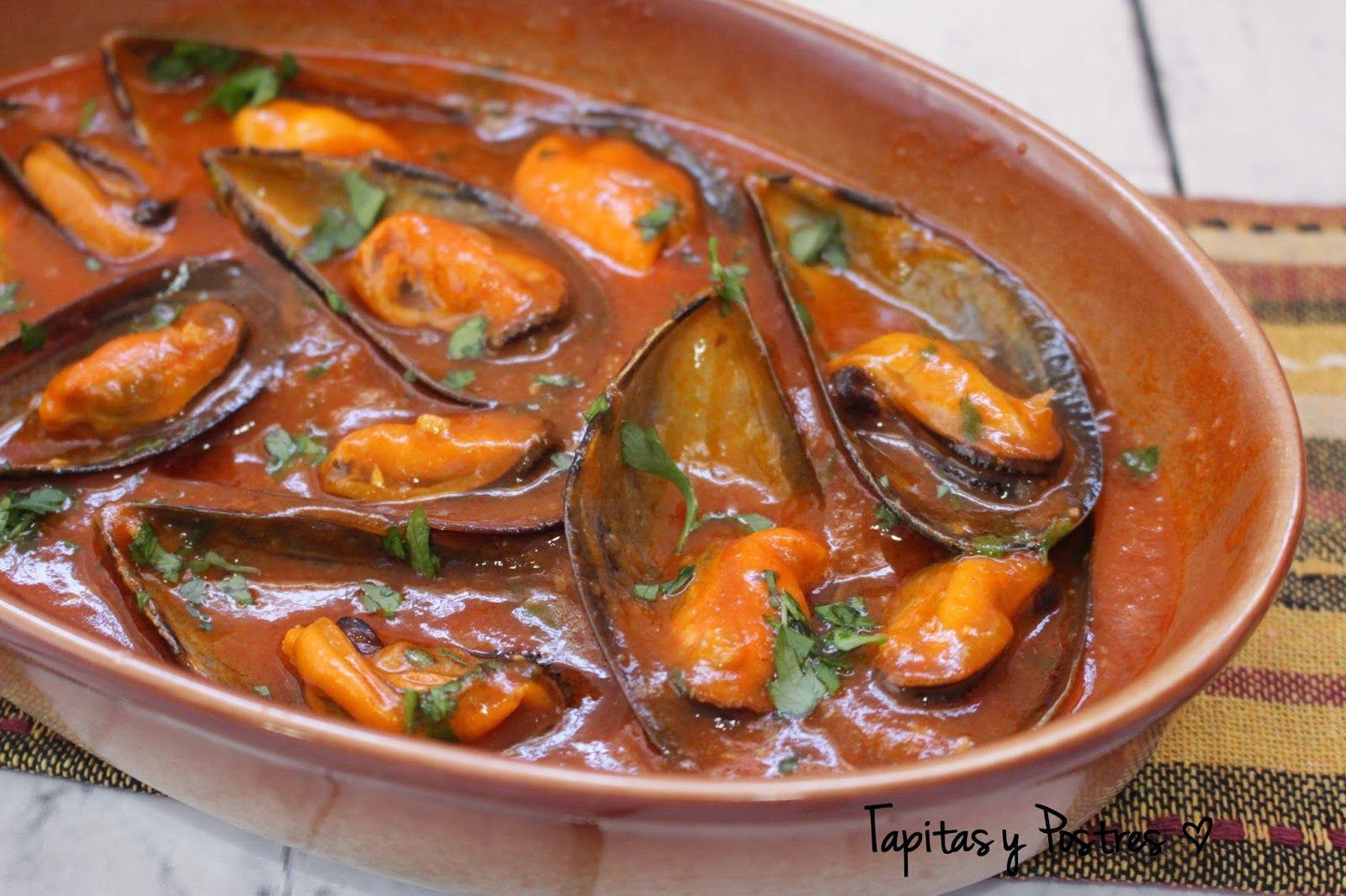 Cocinar Mejillones En Salsa   Como Cocinar Mejillones En Salsa Picante Fish Food And Recipes