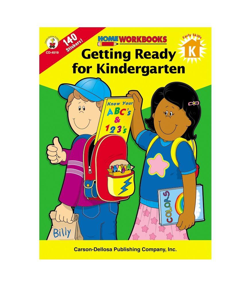Getting Ready for Kindergarten Workbook $3.49 | NOAH ACE ...