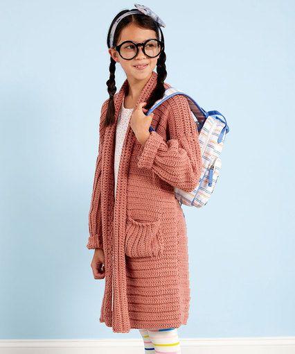 It's Elementary Crochet Cardigan