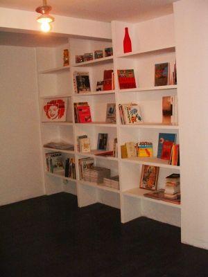 biblioth que en b ton cellulaire vous avez construit. Black Bedroom Furniture Sets. Home Design Ideas