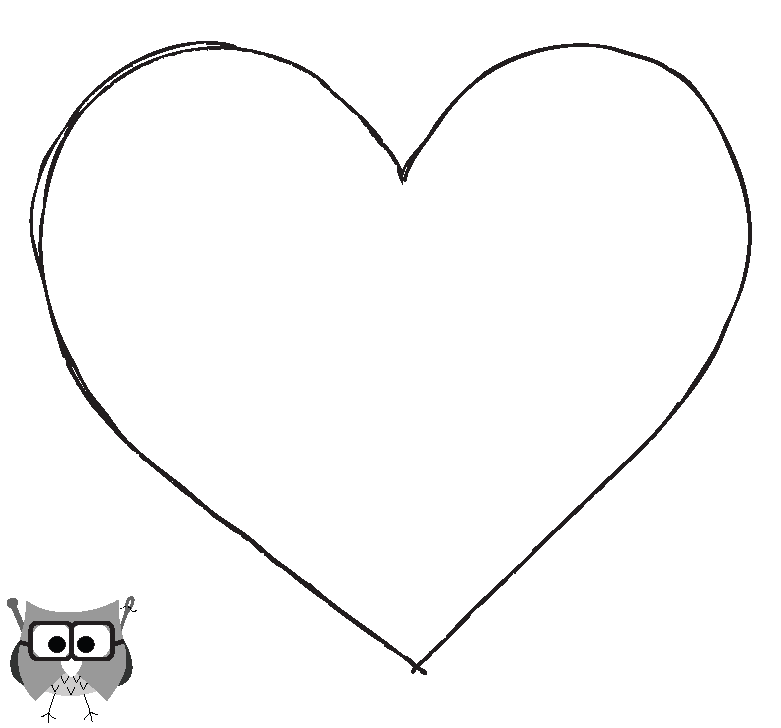 Heart sew template the professor 39 s blog felt heart for Heart template for sewing
