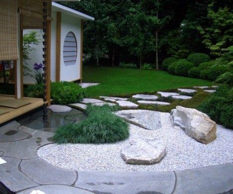Gartengestaltung Modern Moderner Steingarten Steingarten Bilder