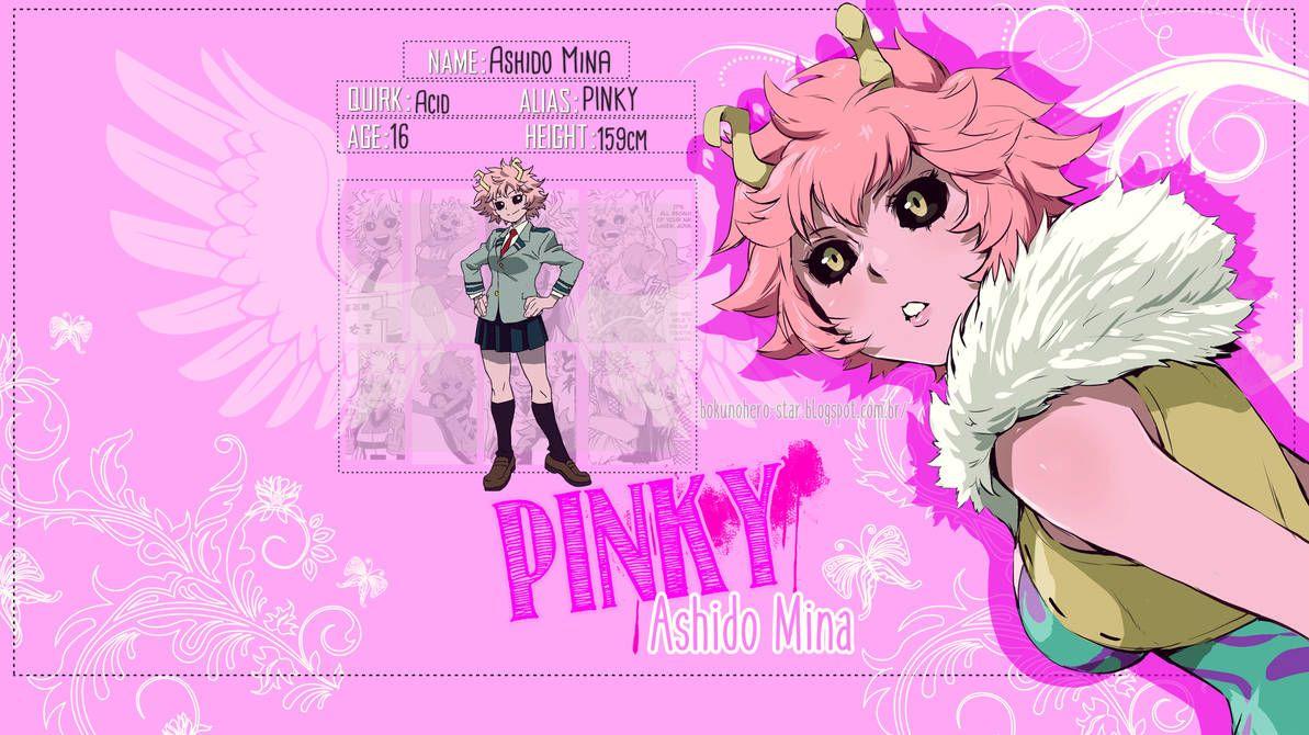 Mina Ashido Wallpaper By Bokunoherostar Anime Wallpaper Mina Wallpaper