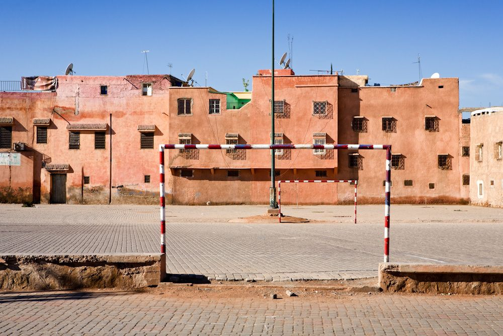 Morocco - Pink by Drew Echberg, via Behance