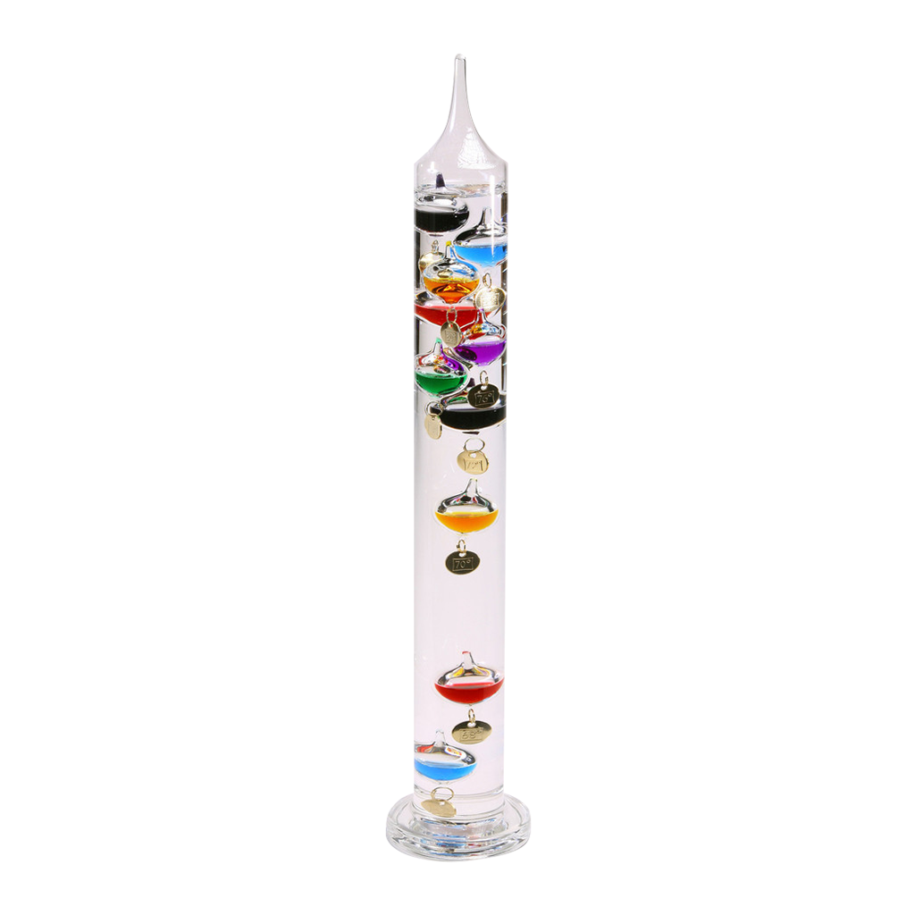 12 Home Decor Gift Ideas From Walmart: Galileo Thermometer Great Gifts For Men Glass 18""
