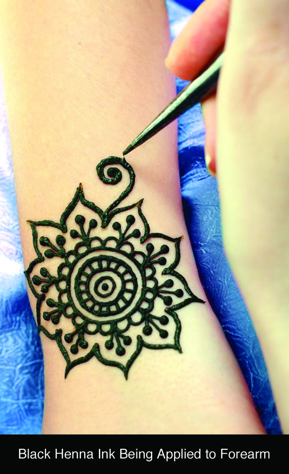 Black Henna Can Be Dangerous For Skin Hennas Pinterest Kina