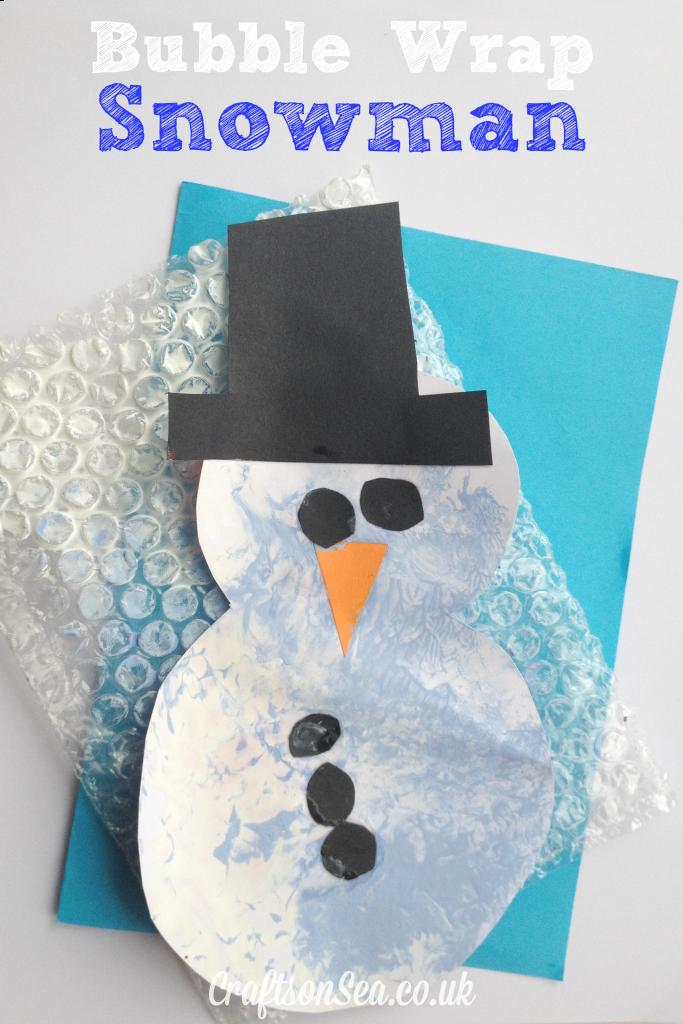 Bubble Wrap Snowman Discover Best Ideas About Quick
