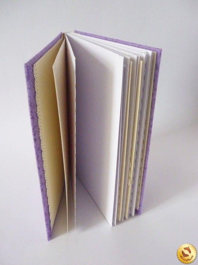 Как сделать блокнот своими руками без сшивания