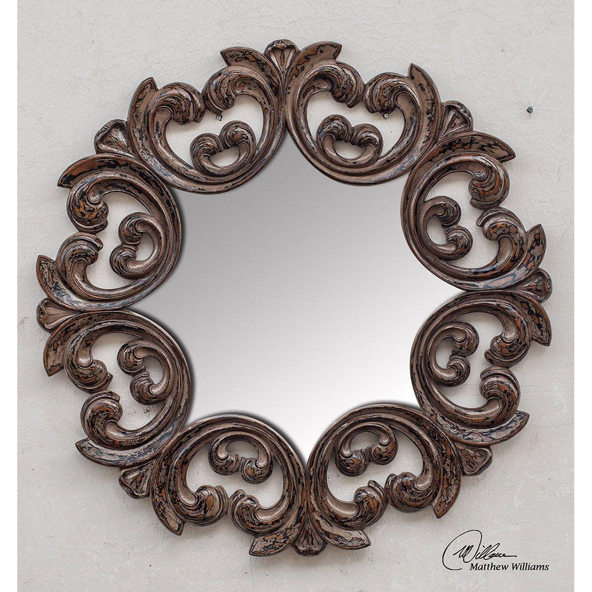 Uttermost Torlonia Round Mirror 05028