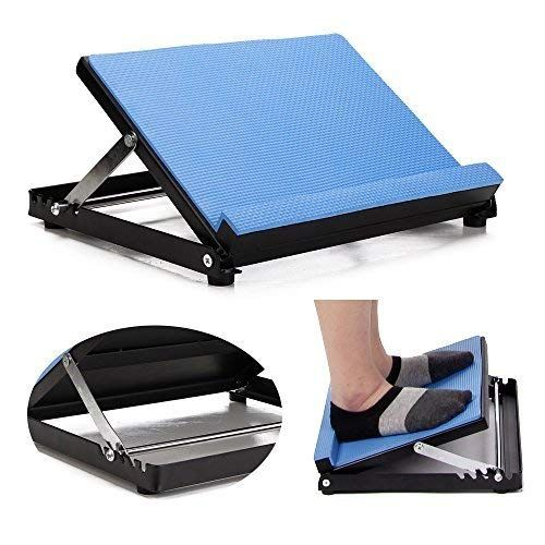 Neppt Slant Board Calf Stretcher Incline Stretching Board Ankle Therapy Stretch Wedge For