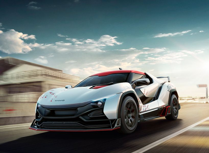 TAMO racemo the twoseater sports coupe from TATA motors