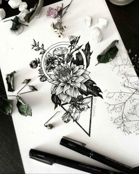 Photo of Laissez l'encre souffler votre esprit. # tatouages - #les #vos # feuilles # …