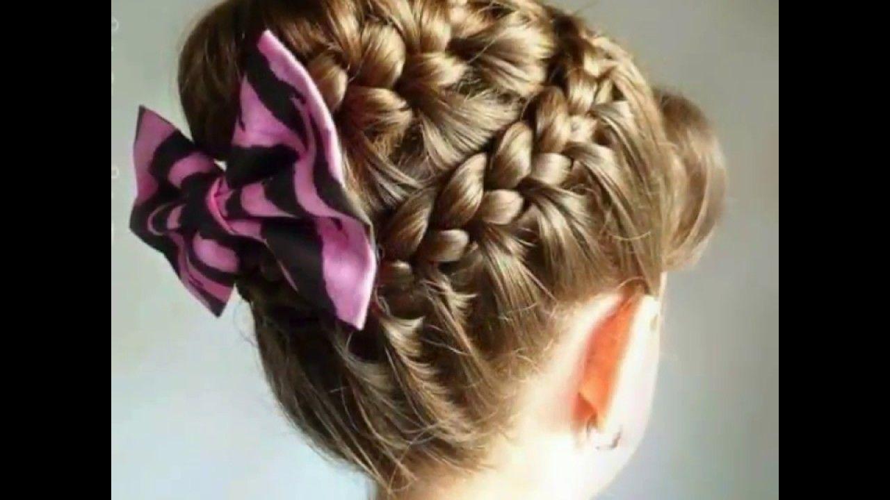 تسريحات شعر قصير للبنات الصغار للاعراس تسريحات لشعر الاطفال كولكشن من اروع واسهل تسريحات لشعر الاطفال تسريحات للبيت والمدرس Hair Styles Cool Hairstyles Hair