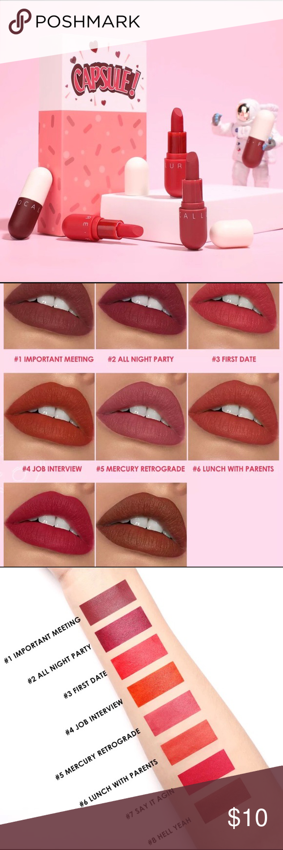 Photo of LIPSTICK The texture is silky, not dry, agglomerated, non-sticky formula. Highly…