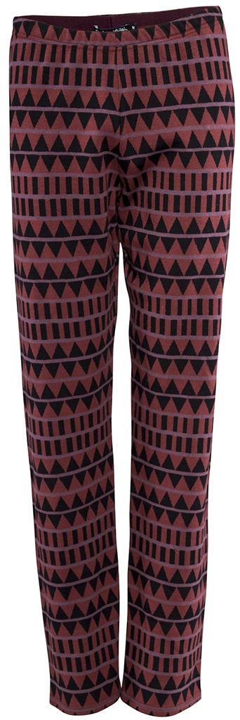 Gudrun Sjödéns Herbstkollektion 2014 - Leggings Mandinka aus Baumwolle in Weinrot. Mehr unter: http://www.gudrunsjoeden.de/Accessoires--40079d.html