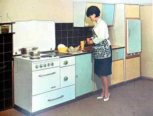 Küchen Küche 50er, Küchenstil, Küche