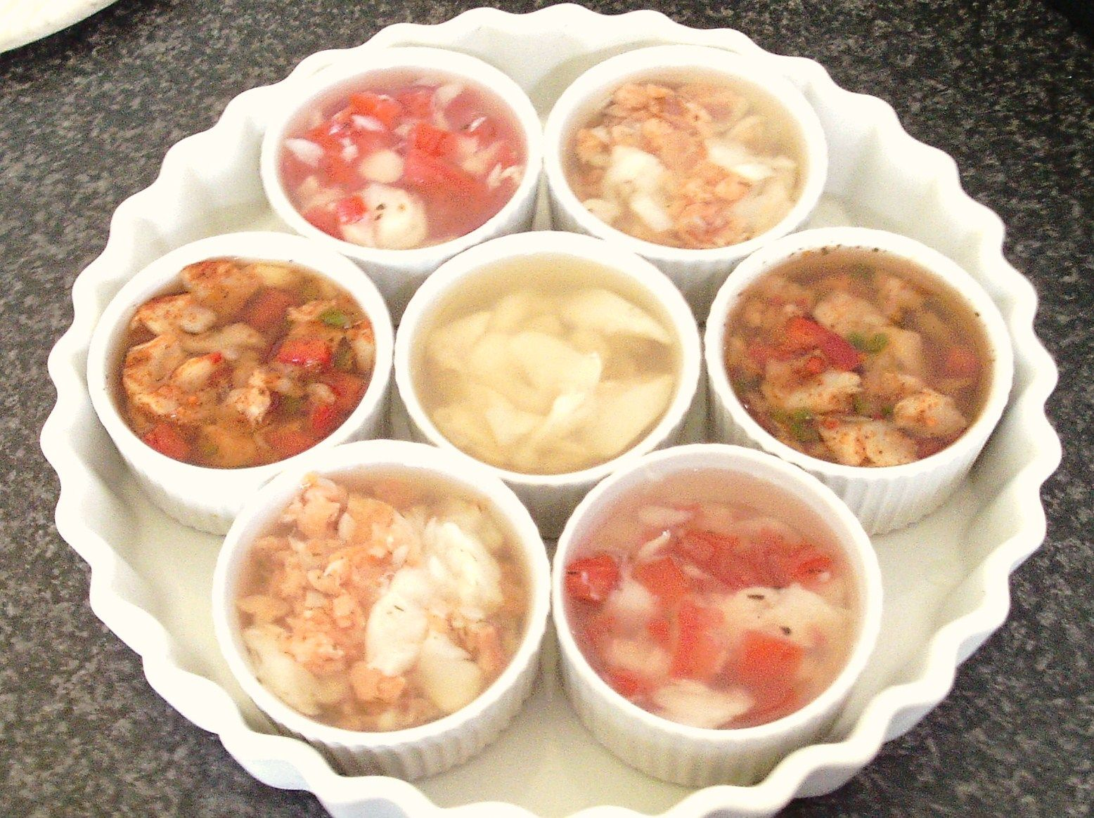 Recipes for jellied fish