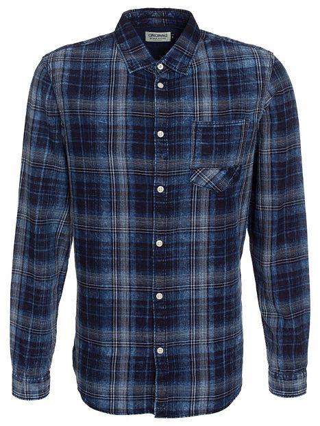 3014889550 Jjorset Shirt L S One Pocket - Jack   Jones - Blue - Shirts (Men) -  Clothing - Men - NlyMan.com