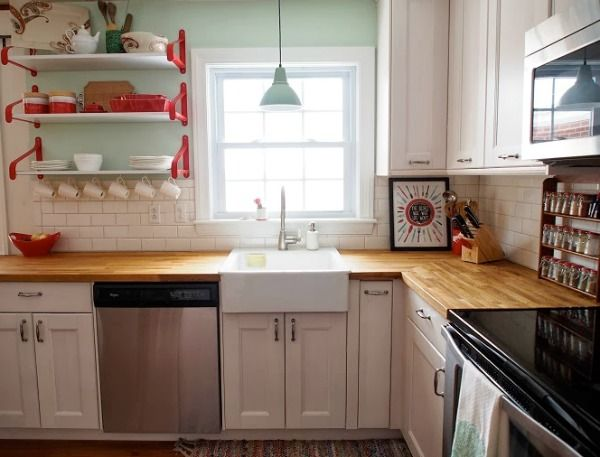 10 Images About Cozinhas On Pinterest Ikea Kitchen Sink Open Shelving And  Kitchen Sinks 10.