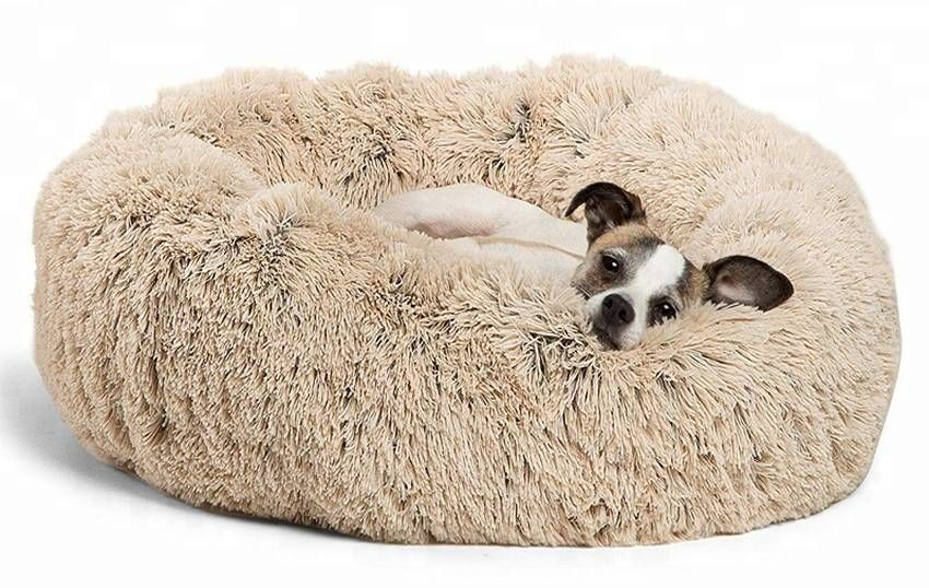 Best Friends By Sheri Fur Donut Dog Bed Dog Beds For Small Dogs Cool Dog Beds Donut Dog Bed